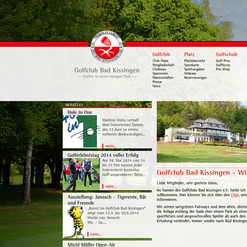 Golfclub Bad Kissingen | 2014