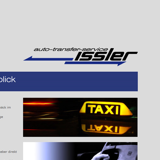 Taxiunternehmen Issler in Lohr am Main