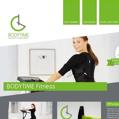 EMS-Trainingstudio BODYTIME in Bad Kissingen
